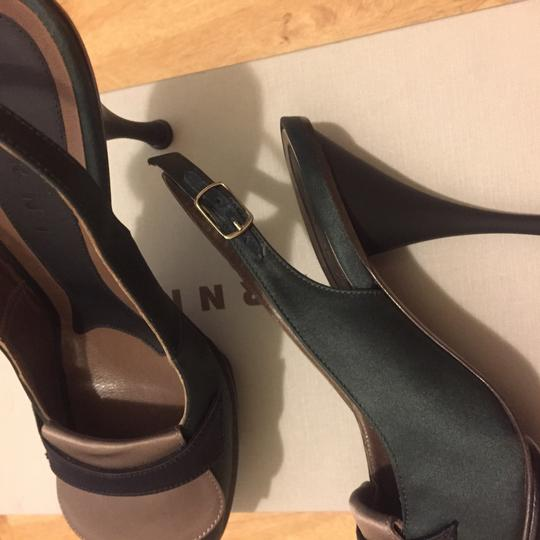 Marni Hunt green & brown Sandals