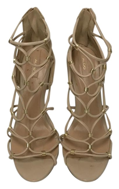 ALDO Nude Style High Heels Formal Shoes Size US 11 Regular (M, B) ALDO Nude Style High Heels Formal Shoes Size US 11 Regular (M, B) Image 1