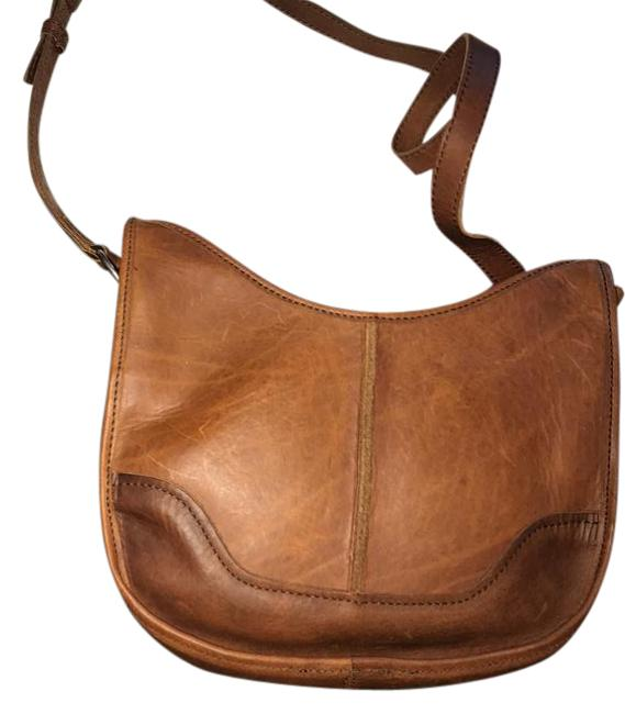 New With Brown Leather Shoulder Bag New With Brown Leather Shoulder Bag Image 1