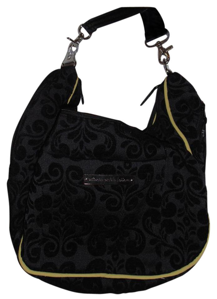 Petunia Pickle Bottom Bott New Touring Tote Black Lime Green Diaper Bag