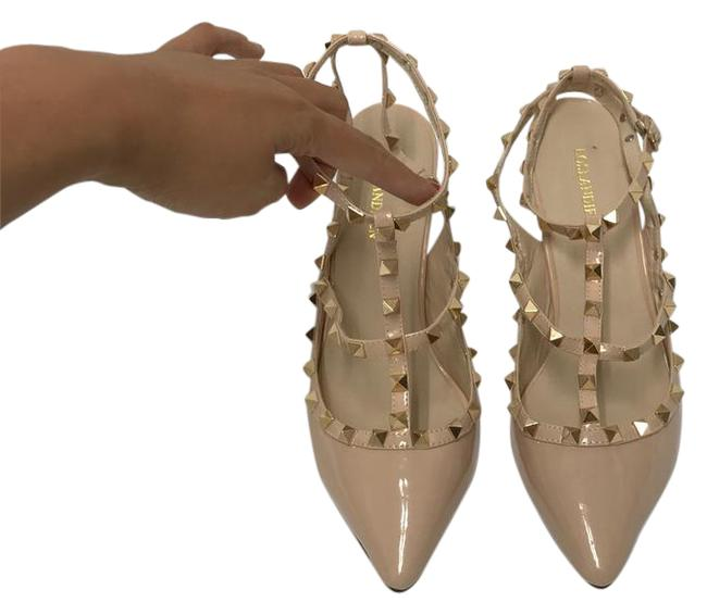 Nude Cute High Heels Formal Shoes Size US 9 Regular (M, B) Nude Cute High Heels Formal Shoes Size US 9 Regular (M, B) Image 1