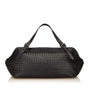 Bottega Veneta 7bbodb001 Black Travel Bag