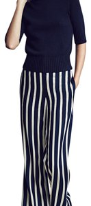 Ann Taylor Wide Leg Pants Blue