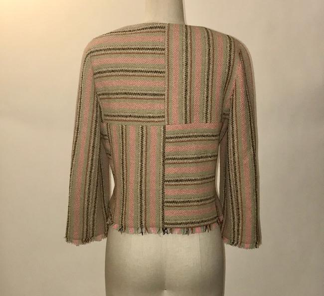 Chanel Pink and Green Jacket