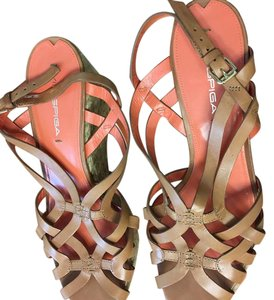 Via Spiga camel Wedges