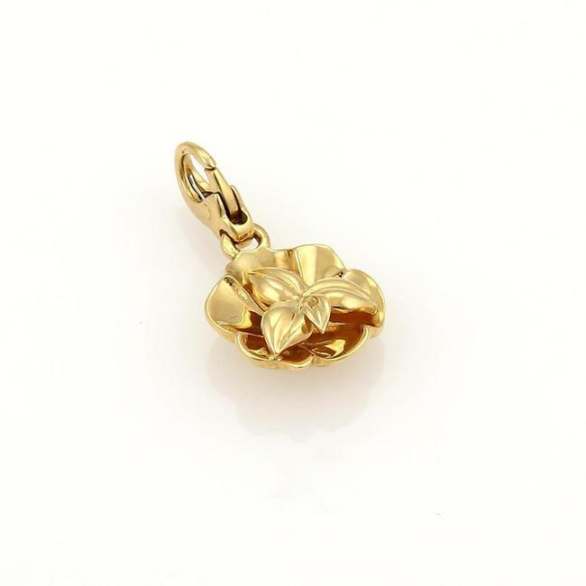 Item - Yellow 20654 Camelia Flower 18k Gold Charm