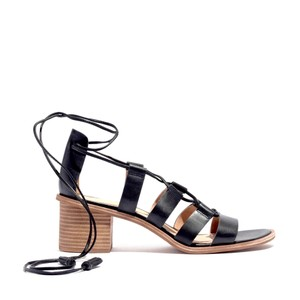 Madewell Gladiator Sexy Leather Comfortable Black Sandals