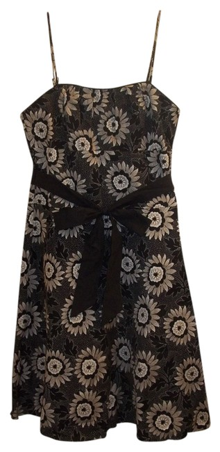 White House | Black Market Dryclean Only Floral Classic Spaghetti Straps Formal Dress