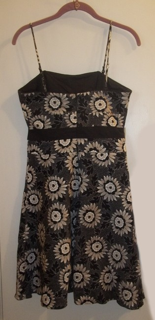White House   Black Market Dryclean Only Floral Classic Spaghetti Straps Formal Dress