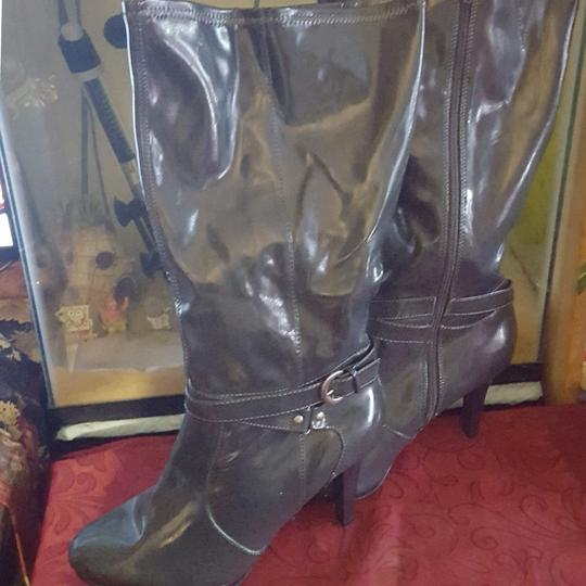 Lane Bryant Comfy dark gray Boots