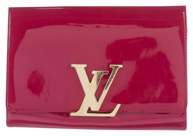 Item - Pochette Lv Mm Indian Rose Patent Leather Clutch