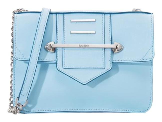 Botkier New Dylan Baby Blue Leather Cross Body Bag Botkier New Dylan Baby Blue Leather Cross Body Bag Image 1