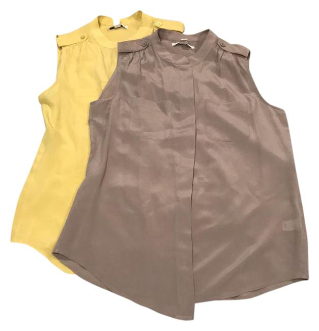 Preload https://img-static.tradesy.com/item/21986998/banana-republic-yellow-silk-sleeveless-button-set-of-2-blouse-size-6-s-0-1-650-650.jpg