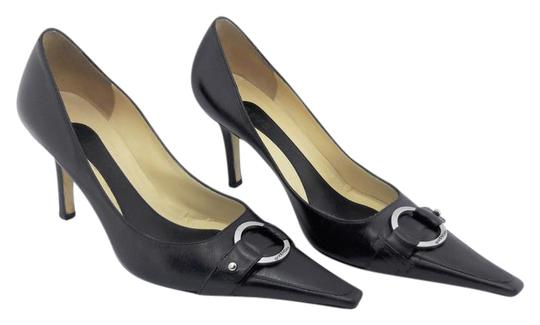 Preload https://img-static.tradesy.com/item/21987025/givenchy-black-leather-pointed-toe-classic-w-silver-toned-ring-pumps-size-eu-38-approx-us-8-regular-0-1-540-540.jpg