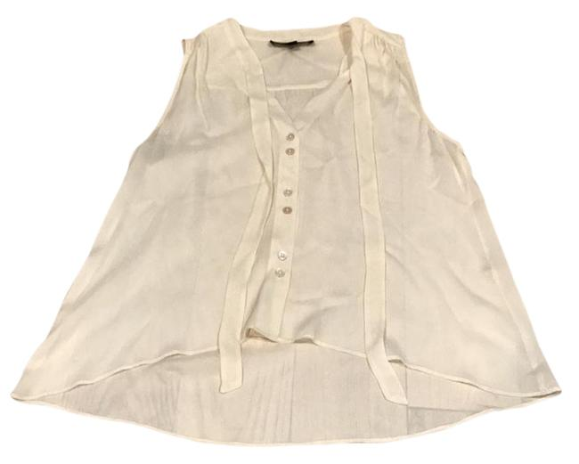 Preload https://img-static.tradesy.com/item/21987044/elizabeth-and-james-cream-silk-blouse-size-8-m-0-1-650-650.jpg