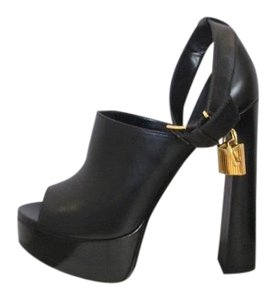 Tom Ford black Platforms