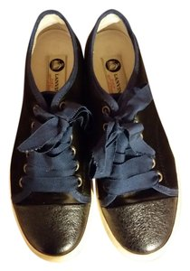 Lanvin Black with Dark Blue accents Athletic
