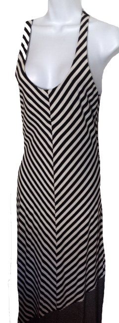 black/white Maxi Dress by Other