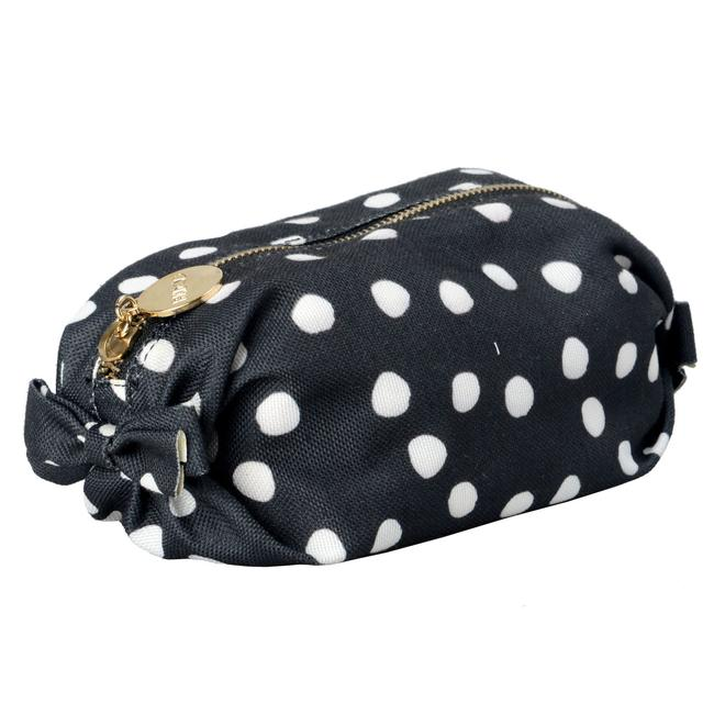 RED Valentino Women's Polka Dots Print Cosmetic Multi-color Canvas Clutch Image 1