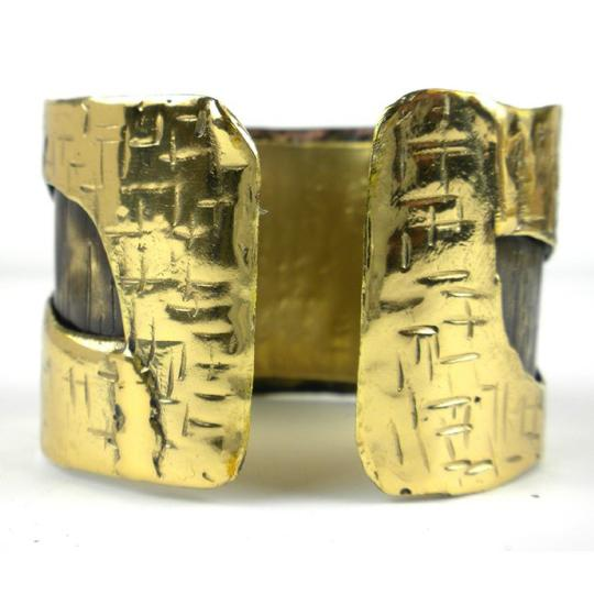 Brass Images Road Less Traveled Cuff
