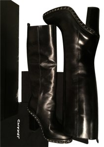 Chanel 40 10 10 40 40 10 Black Boots