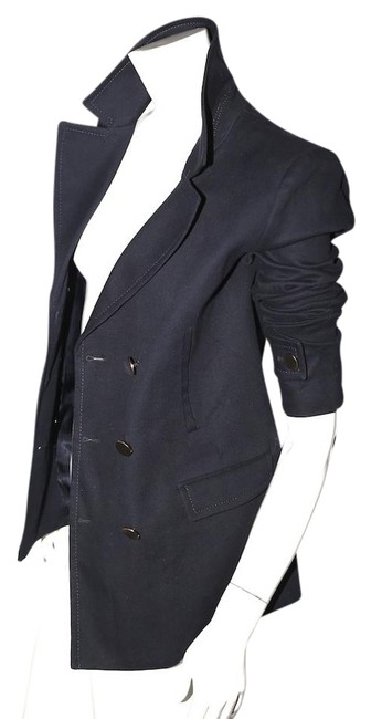 Preload https://img-static.tradesy.com/item/21987833/bcbgmaxazria-navy-blue-hugo-double-breasted-blazer-size-10-m-0-1-650-650.jpg