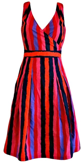 Preload https://img-static.tradesy.com/item/21987849/lk-bennett-pink-striped-stripes-knee-length-bold-colourful-sleeveless-mid-length-workoffice-dress-si-0-3-650-650.jpg