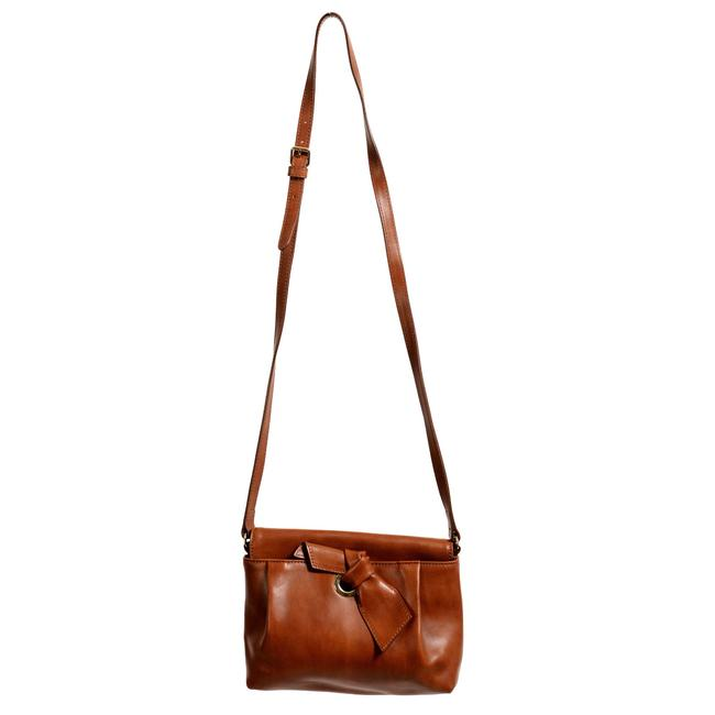 RED Valentino Women's Rust Brown Leather Shoulder Bag RED Valentino Women's Rust Brown Leather Shoulder Bag Image 1