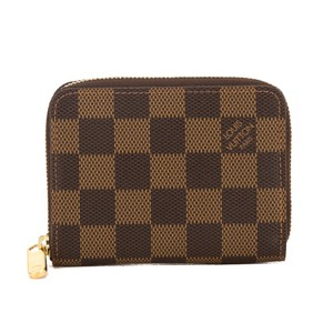 Louis Vuitton Louis Vuitton Damier Ebene Canvas Zippy Coin Purse Pre Owned