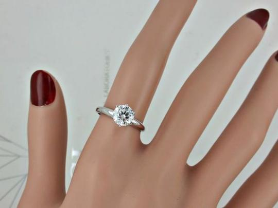 14k White Gold 1.13 Ct Round Diamond Made Of 14 Kt Engagement Ring
