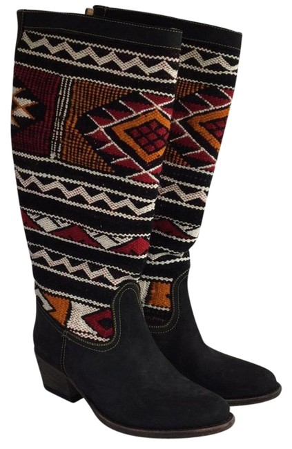 Black Marley Wool Boots/Booties Size EU 36 (Approx. US 6) Regular (M, B) Black Marley Wool Boots/Booties Size EU 36 (Approx. US 6) Regular (M, B) Image 1