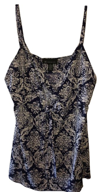 Preload https://img-static.tradesy.com/item/21988164/inc-international-concepts-navy-print-cami-with-spaghetti-straps-with-bead-bling-tank-topcami-size-1-0-1-650-650.jpg