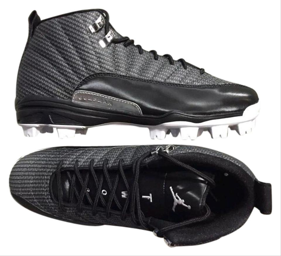 size 40 e5d97 a21be Air Jordan Cleats Baseball Size15 Black white Athletic Image 0