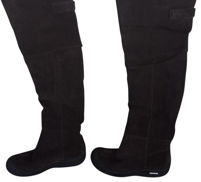 Bally Brown Over The Knee Boots/Booties Size US 8.5 Regular (M, B) Image 1