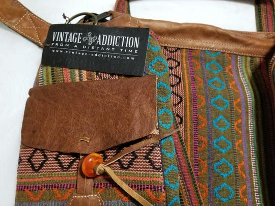 Vintage Addiction Brown Travel Bag
