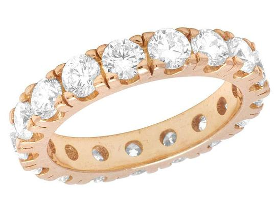 Preload https://img-static.tradesy.com/item/21988604/jewelry-unlimited-10k-rose-gold-diamond-solitaire-eternity-wedding-band-495-ct-4mm-ring-0-0-540-540.jpg