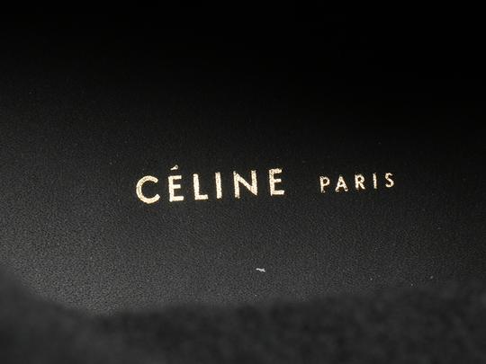 Céline New High Tops Shearling Ce.k1208.06 Black Boots Image 6