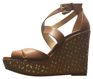 Michael Kors acorn Wedges