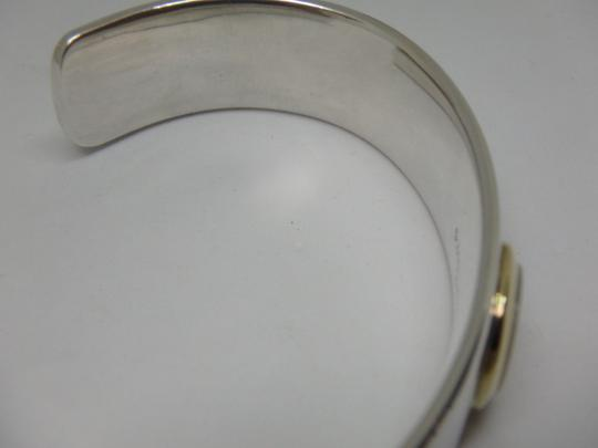 Tiffany & Co. Mother of Pearl Cuff in 18K Yellow Gold & Sterling Silver Image 11