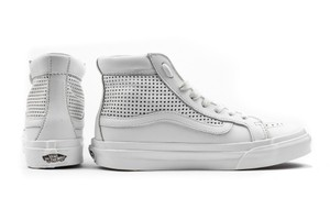 Vans Perforated Leather High Tops Madewell White Athletic