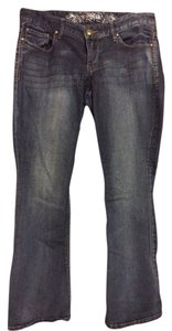 Express Boot Cut Pants Dark Denim