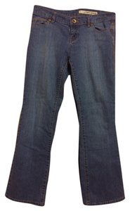DKNY Boot Cut Pants Dark Denim