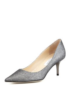 Jimmy Choo Limited Edition Pewter Pumps
