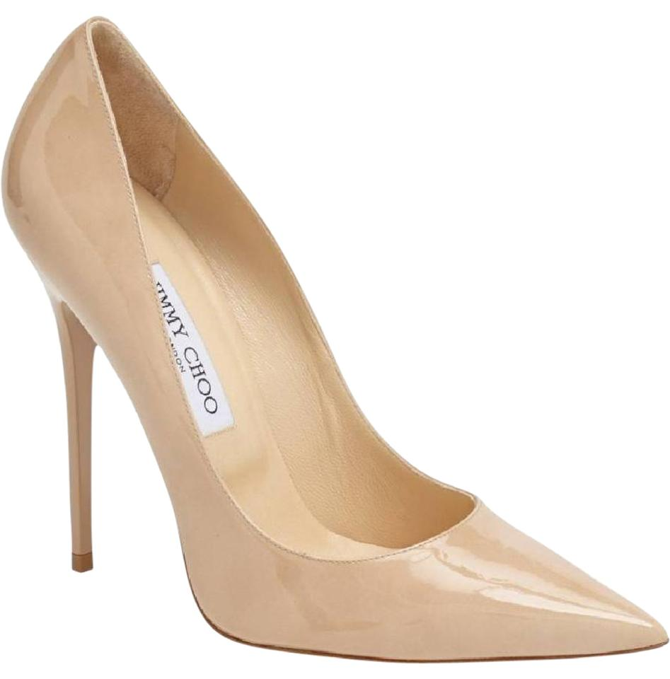 81b6e86f6a58 Jimmy Choo Nude  anouk  Patent Leather - Pumps Size EU 36.5 (Approx ...