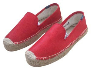 Soludos Red Flats