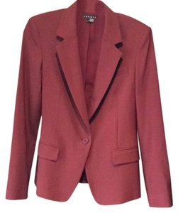 Theory burgundy Blazer
