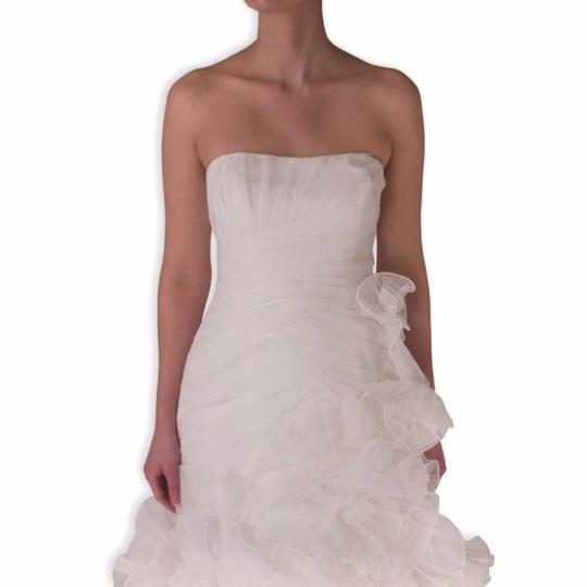 Pronovias Off-white Polyester Alga Modern Wedding Dress Size 10 (M) Image 1