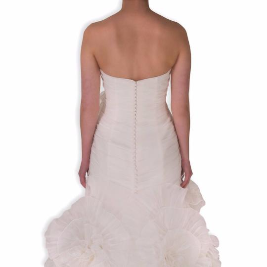 Pronovias Off-white Polyester Alga Modern Wedding Dress Size 10 (M) Image 2