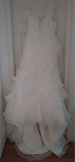 Pronovias Off-white Polyester Alga Modern Wedding Dress Size 10 (M) Image 5