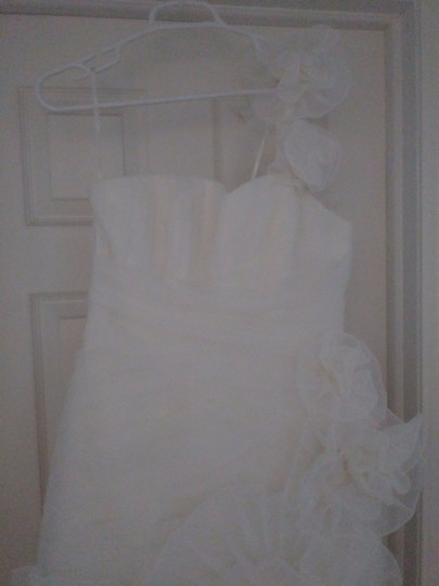 Pronovias Off-white Polyester Alga Modern Wedding Dress Size 10 (M) Image 6